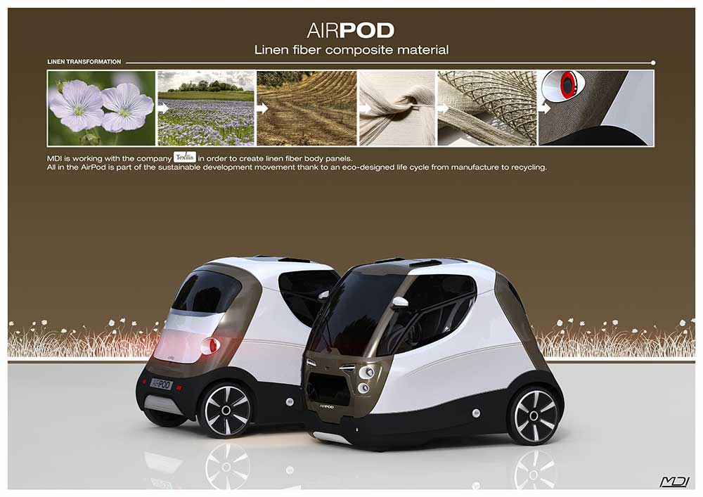 Zero pollution motors the first compressed air powered car for Shark tank motorized vehicle suit update